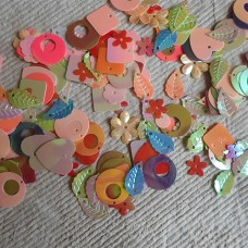 Acrylic Embellishments for cards