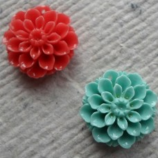 Acrylic ~ Small Flower Pendent