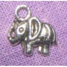 Antique Silver Charms ~ Elephant